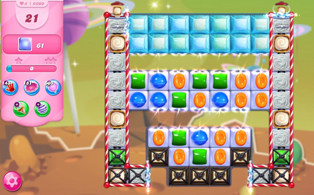 Candy Crush Saga level 6600