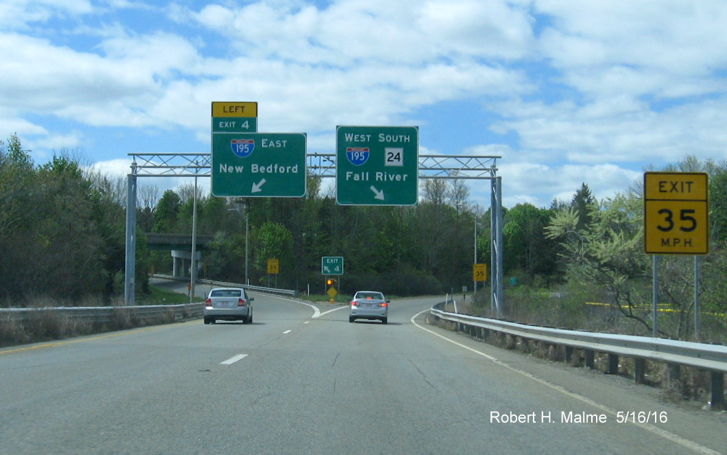 Kentucky Freeway Map%0A Ground reassurance signage after the onramp confirms the I    MA     duplex  though the square    sign with the large black border would look  better in