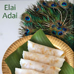 Ela Ada Recipe | Elai Adai | Elayappam | Elai Adai with sweet filling | Steamed rice cakes with jaggery & coconut filling