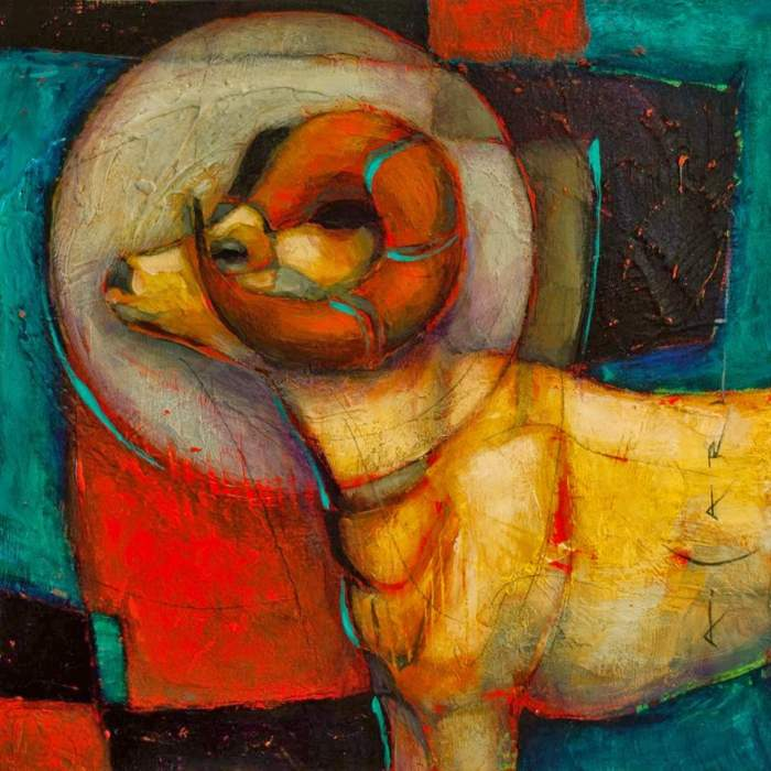 Американский художник. Anna Carll