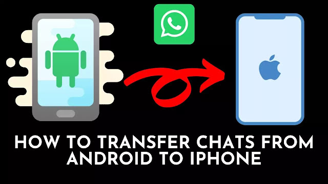 How to transfer chats from android to IPhone