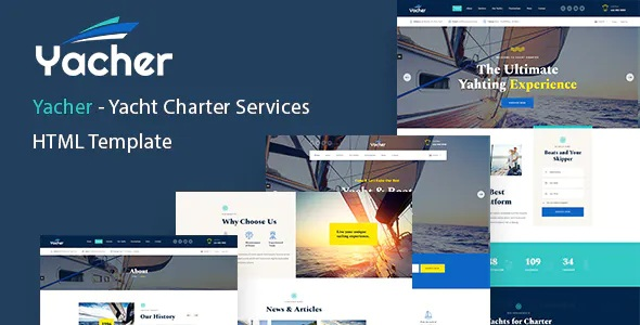 Best Yacht Charter Services HTML Template