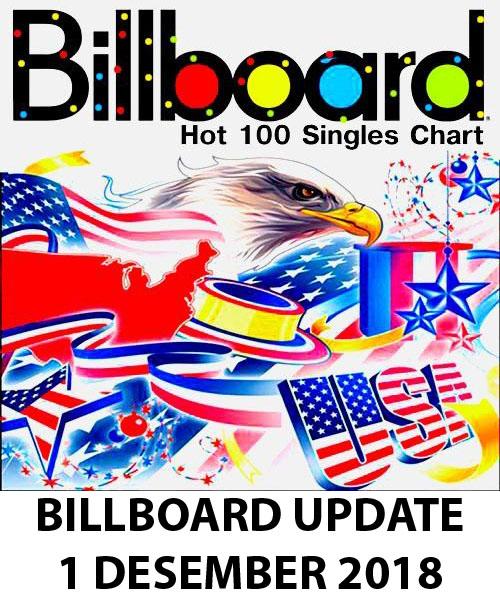 Gucci Mane Kodak Black Bruno Mars Mp3: Billboard Hot 100 Singles Chart,1 December 2018