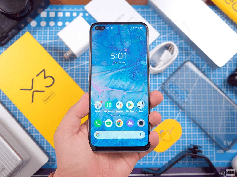 120Hz LCD screen of realme