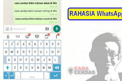 Rahasia WhatsApp