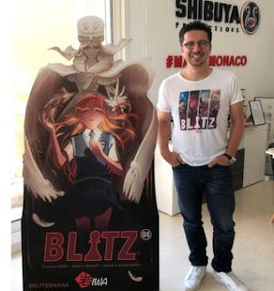 À l'âge de 10 ans, Cédric Biscay, créateur de Blitz, était biberonné à «Club Dorothée», «Goldorak», «Olive et Tom» et «Dragon Ball».