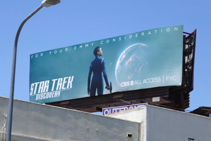 Star Trek Discovery 2019 Emmy FYC billboard
