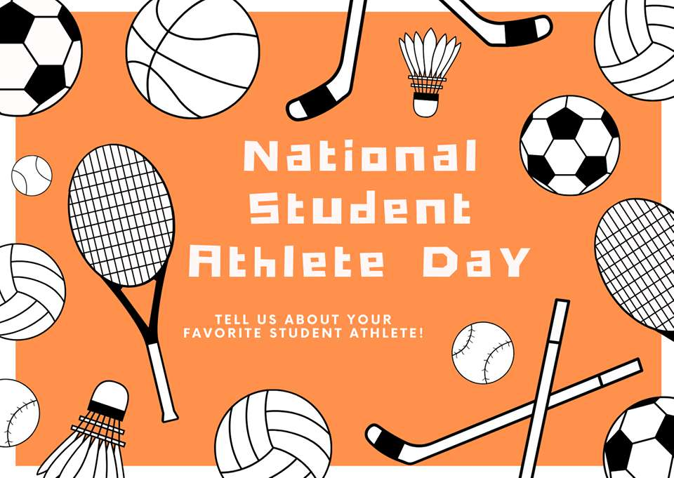 National Student-Athlete Day Wishes Pics