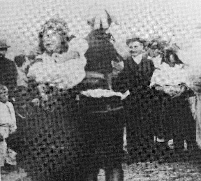 Janacek collecting folk-songs on 19 August 1906 in Strání
