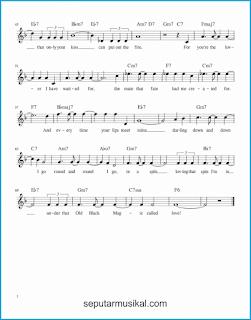 chord that old black magic 2 lagu jazz standar