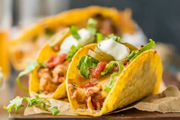 Oven Baked Chicken Tacos #dinnerrecipe #food #amazingrecipe #chicken #tacos