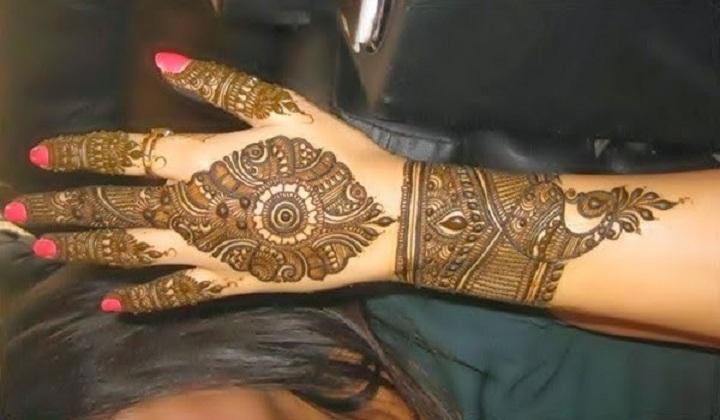 Gorgeous Bridal Mehndi Designs : Bridal mehndi designs: beautiful pakistani new and gorgeous