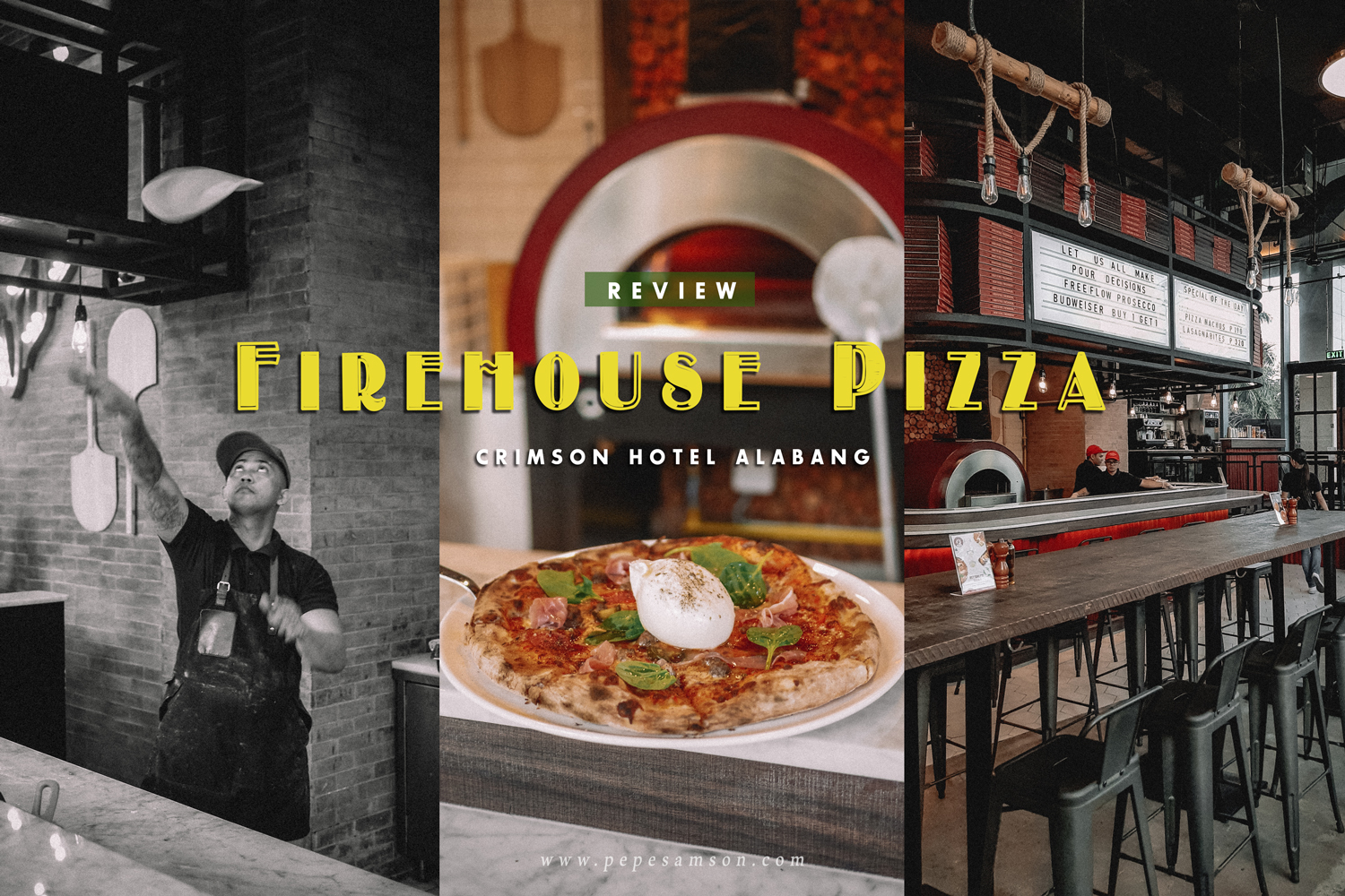 Firehouse Pizza Alabang