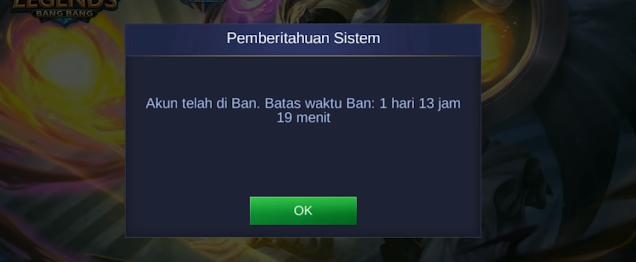 Cara Mengatasi Akun Mobile Legends di Banned