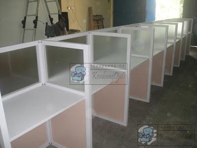 Meja Partisi Kantor Harga Diskon 2,5 % ( Furniture Semarang )