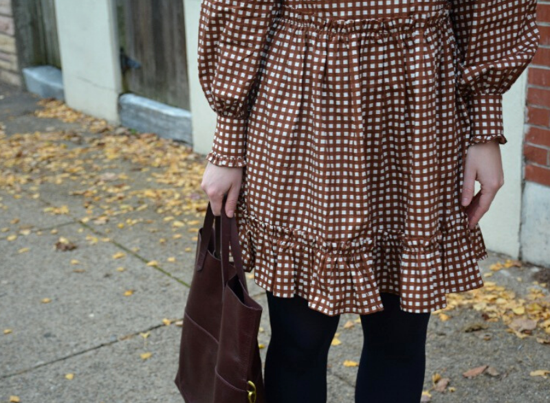 Styling a Ruffled Mini Dress | Organized Mess