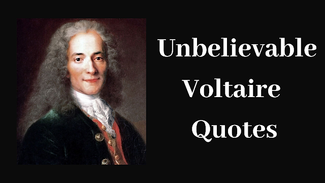Unbelievable Voltaire Quotes The Great People Quotes