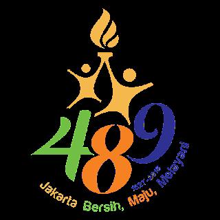 DP BBM HUT Jakarta 489, Gambar Logo Ulang Tahun Jakarta 2016