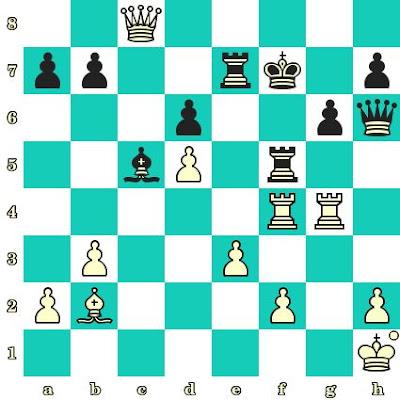Les Blancs jouent et matent en 2 coups - Hoang Thanh Tran vs Alina Calota, Duisburg, 1992