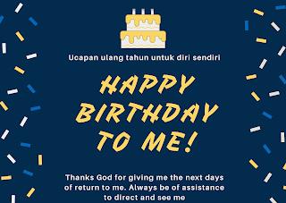 ucapan ulang tahun untuk diri sendiri