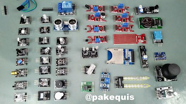 Kit Robotale 45 Sensores para Arduino