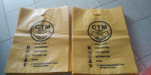 Sablon Plastik CTM Casteme Bengkalis