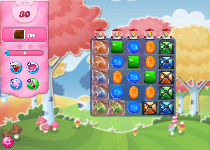 Candy Crush Saga level 3151