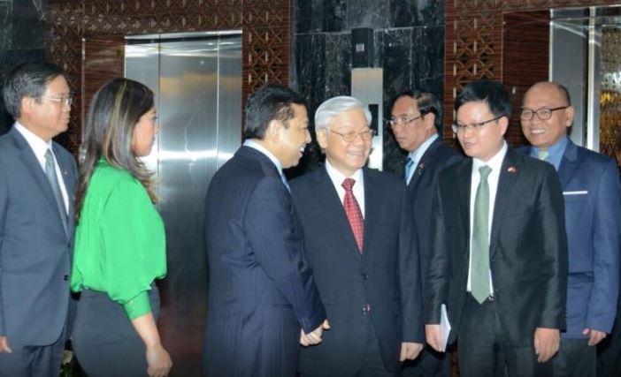 DPR RI Terima Kunjungan Delegasi Sekjen Partai Komunis Vietnam YM Nguyen Phu Trong