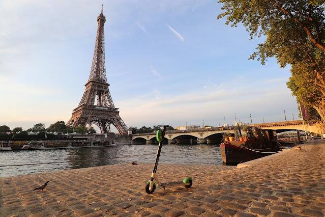 Las trottinettes de Paris