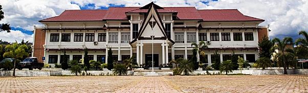 Gedung kantor bupati Kabupaten Samosir