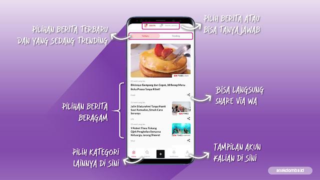 Tampilan Beranda IDN Times Mobile