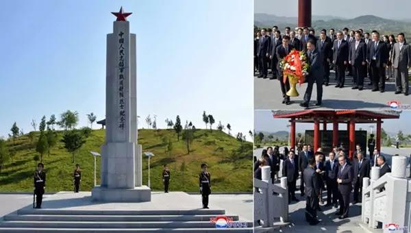 Wang Yi visits CPV Martyrs Cemetery in Anju City