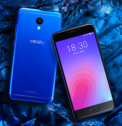 "Launch of the ""M6"" phone from the company ""Meizu"" Chinese"