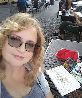 Artist Irina Sztukowski Paints at Plein Air Day in Camas WA