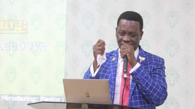 RCCG Breaks Silence On Death Of Adeboye's Son
