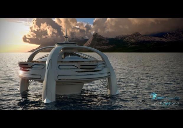 Missvanilla Futuristic Island Home Design Concept