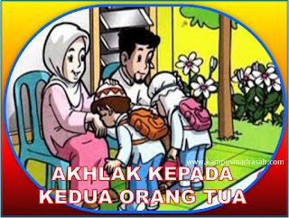 akhlak kepada orang tua