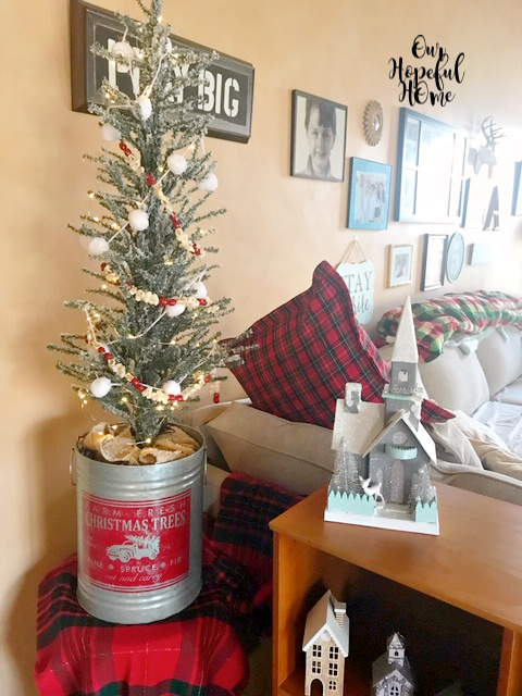 Farm Fresh Christmas Trees galvanized greens bucket tree stand