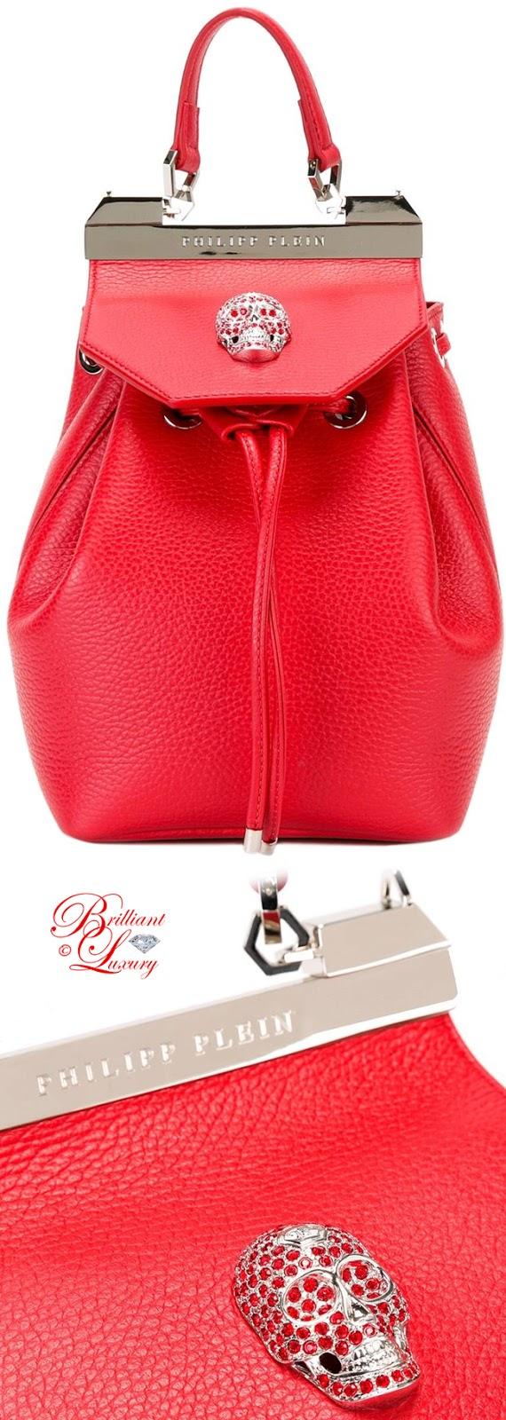 Brilliant Luxury ♦ Philipp Plein Orchid Backpack