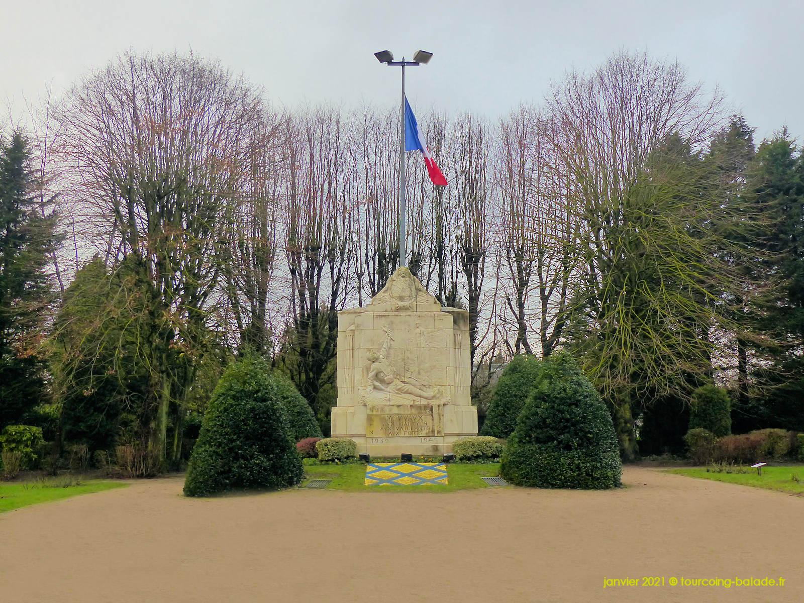 Monument aux Morts, Mouvaux 2021