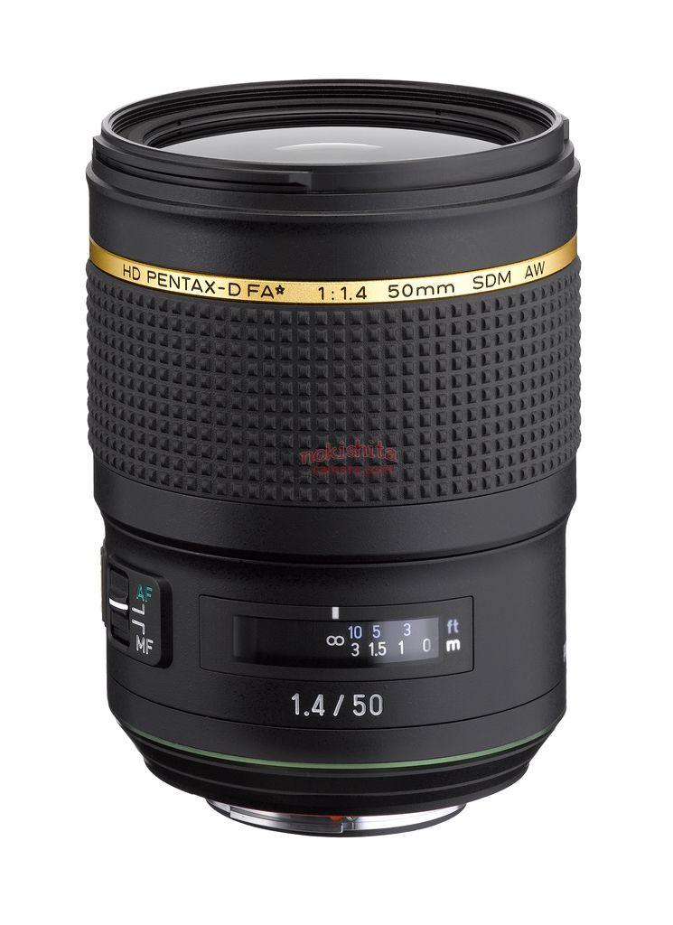 HD PENTAX-D FA ★ 50mm f/1.4 SDM AW