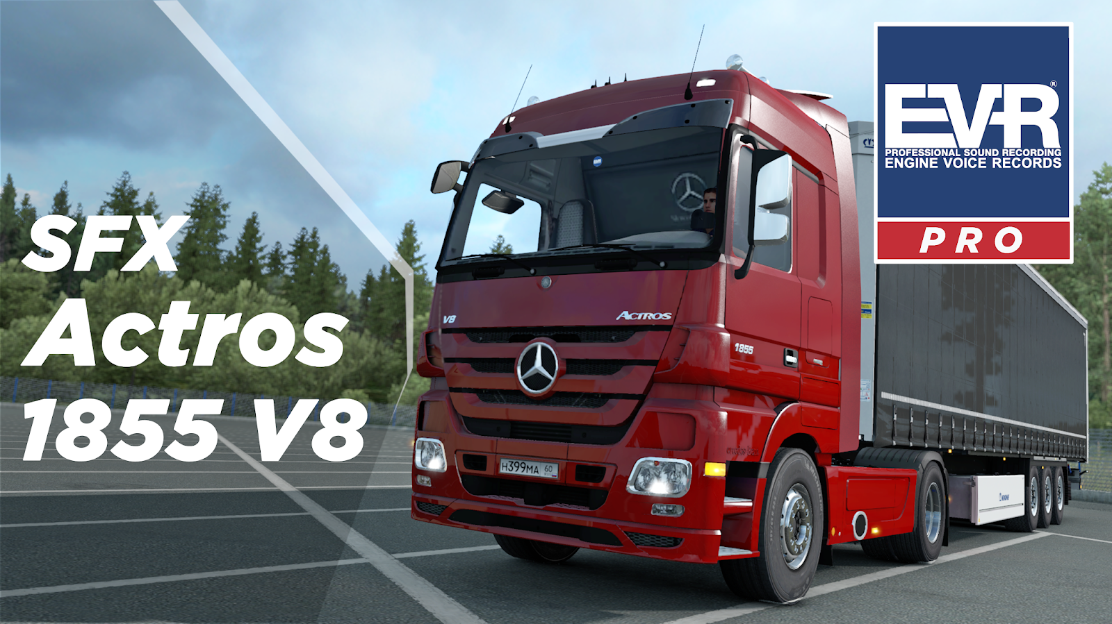 Engine Voice Records-Professional sound recording: Actros