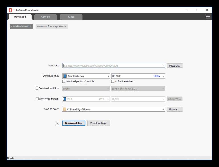Pc tubemate linux for TubeMate 3.4.3.1272