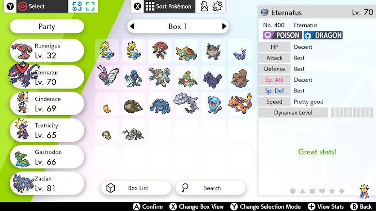 Individual Values Pokémon Sword Shield