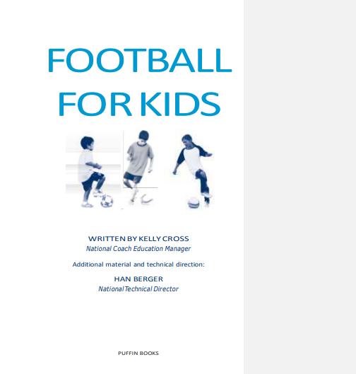 FOOTBALL FOR KIDS PDF