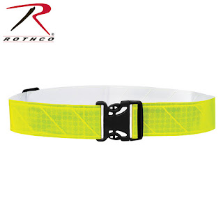 Rothco Lightweight Reflective PT (Physical Training) Belt