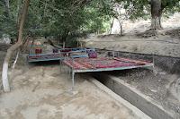 Uzbekistan, Hazrat-Davoud, topchan, © L. Gigout, 2012