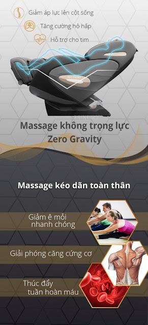 Ghế Massage cao cấp 7908