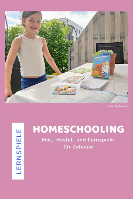 Mal,- Bastel- und Lernspiele für Zuhause