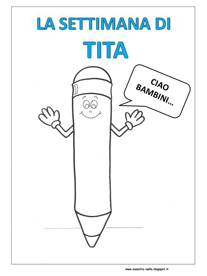 abbastanza maestra Nella: La settimana di Tita, la matita OL05